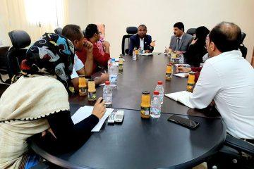 مدير مكتب مفوضية حقوق الإنسان باليمن يزور مكتب اللجنة الوطنية للتحقيق