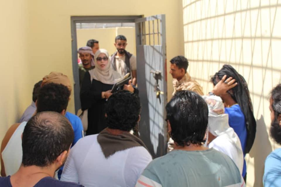 اللجنة الوطنية للتحقيق تنفذ نزولا ميدانيا إلى إصلاحية سجن بئر أحمد وتطلع على أحوال السجناء