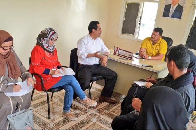 اللجنة الوطنية للتحقيق تلتقي منظمات المجتمع المدني ومدراء عدد من المديريات بسقطرى